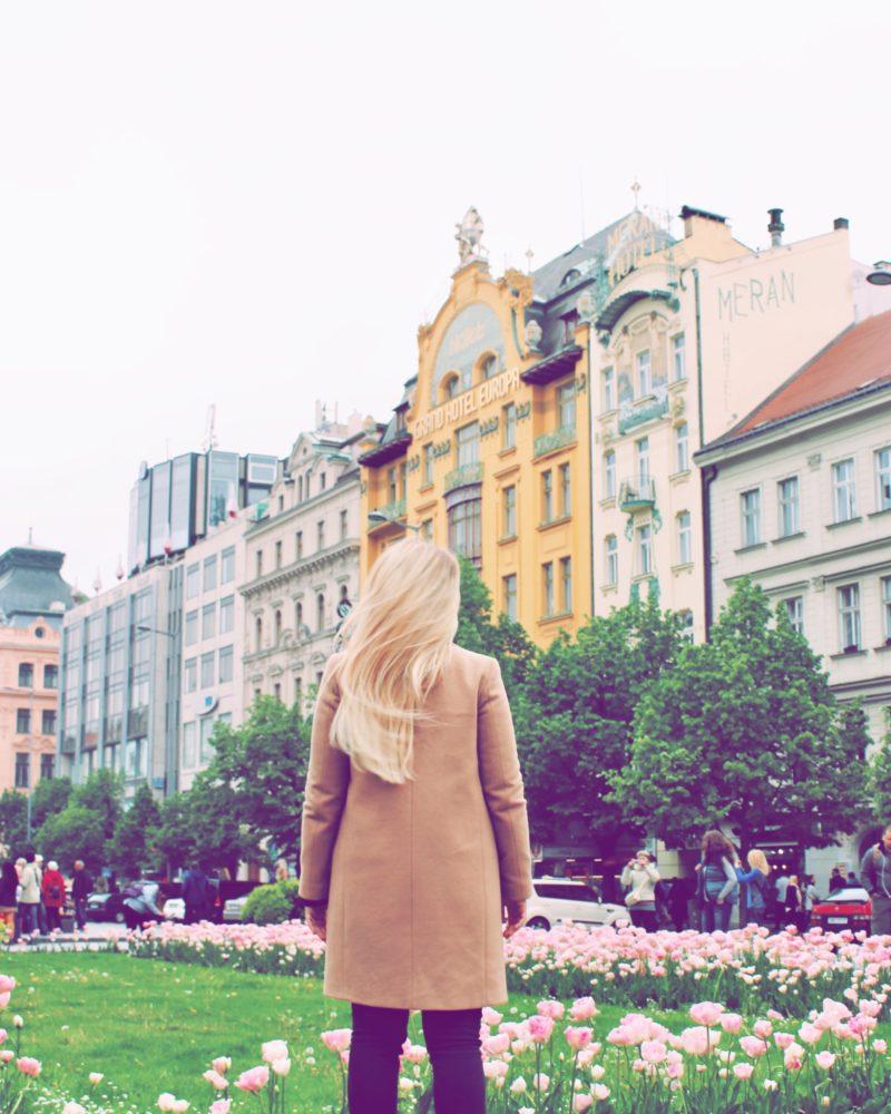 Hôtel Europa (en jaune)